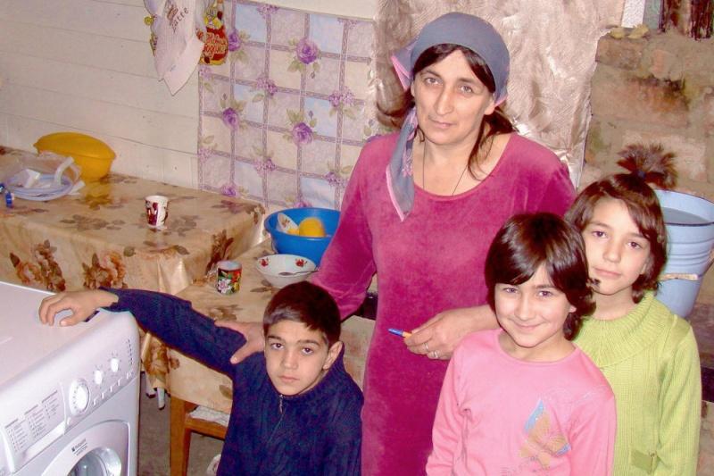 Стиральная машина для многодетной семьи из Северной Осетии