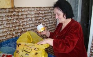 Пенсионеры из Северной Осетии получили наборы продуктов и средств гигиены